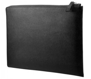 Hp Elite 13.3 Black Leather Sleeve 2vy62aa