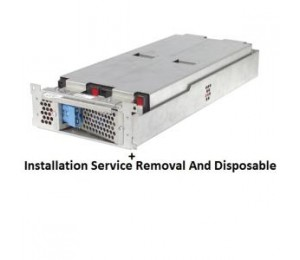 Apc Supply And Delivery Of 1 X Rbc43 Battery + Installation Service By A Certified Schneider Electric