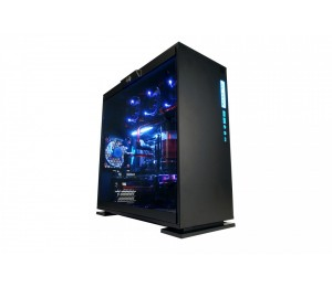 IN WIN 303C ATX CASE BLACK RGB FRONT I/O 3 X POLARIS RGB FANS SECC & TEMPERED GLASS USB3.1 X1 USB3.0