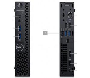 Dell Optiplex 3060 Mff I3-8100t 4gb 500gb Hdd No-odd No-wl W10p 1yos Cyj4k