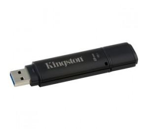 Kingston 8gb Dt4000 G2 256 Aes Usb 3.0 Dt4000g2dm/8gb