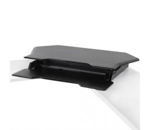 Ergotron Workfit Corner Standing Desk Converter Black 33-468-921