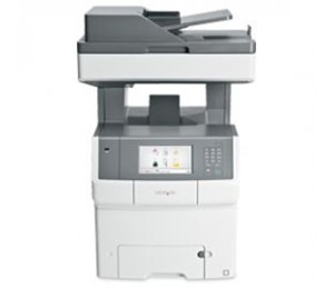 Lexmark X748de (34t5090) Print, Copy, Scan And Fax, 35 Ppm Black Or Colour Printing, Flatbed Duplex