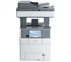 Lexmark X748dte(34t5091) Print, Copy, Scan And Fax, 35 Ppm Black Or Colour Printing, Flatbed Duplex