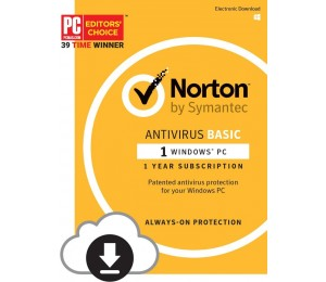 Symantec Norton Antivirus Basic 1.0 Au 1 User 1 Device 12month Special Card Mm Sml 21370509