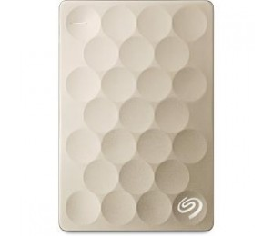 Seagate Backup Plus Ultra Slim Portable Drive 1tb - Gold Srs Steh1000301
