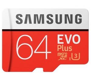 Samsung Micro Sd 64gb Evo Plus/w Adapter 100mb/s Read 60mb/s Write 10 Years Limited Warranty Mb-mc64ga/apc