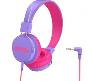 VERBATIM URBAN SOUND VOLUME - LIMITING KIDS HEADPHONES - PURPLE/PINK 65484