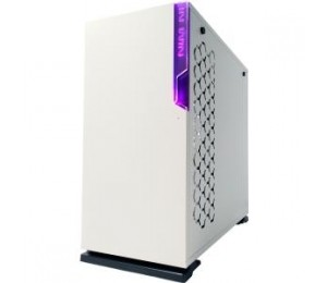 IN WIN 101C WHITE ATX CASE, TYPE C & RGB FRONT I/O, WINDOW TEMPERED GLASS, BLUE LED IN WIN LOGO