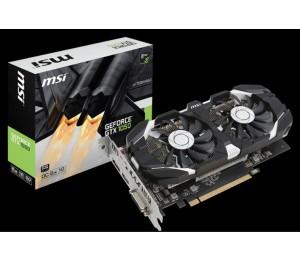 Msi Nvidia Geforce Gtx 1050 2gt Ocv1 Graphic Card Gddr5 128bit Dx12 Dual-link Dvi-d X 1 Displayport