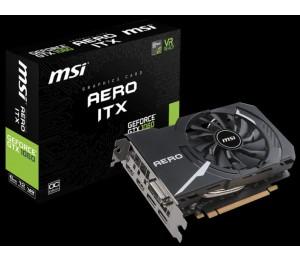 MSI NVIDIA GEFORCE GTX 1060 AERO ITX 6G OC GRAPHIC CARD GDDR5 192BIT DX12 DUAL-LINK DVI-D X 1 DISPLAYPORT