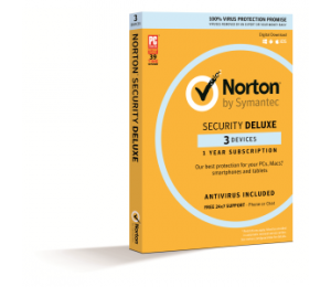 Symantec Norton Security Deluxe 3.0 Au 1 User 3 Device 12mo Mm Box 21380052