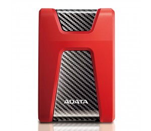 Adata Technology Adata Druable Hd650 2tb (red) Usb 3.1(backward Compatible With Usb 2.0) Comes