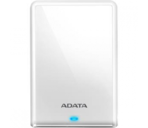 Adata Technology Adata Hv620 2tb External Hdd (white) With A Sleek And Glossy Housing. Usb 3.0