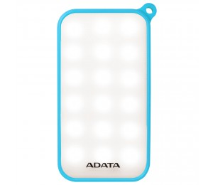 Adata Technology Adata D8000l 8000mah Power Bank (blue) Combines Adata Power Bank And Led With