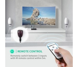 UGREEN HDMI Switch 1 x 3 black 40234 ACBUGN40234