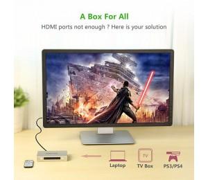 UGREEN HDMI 3 x 1 Switch Zinc Alloy 40278 ACBUGN40278