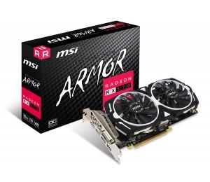 Msi Amd Radeon Rx 570 Armor 8g Oc Graphic Card Gddr5 256bit Dx12 Displayport X 3 Hdmi X 1 Dvi-d