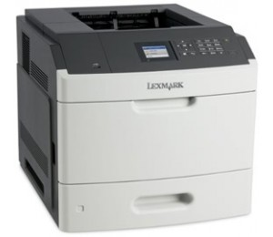 Lexmark MS812DN(40G0369) Network, Duplex, up to 66 (A4) ppm, 550-sheet input tray, 100-sheet feeder,