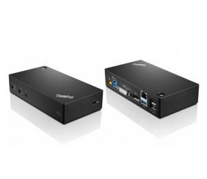 Lenovo Thinkpad Usb 3.0 Pro Dock 40a70045au, Wqhd, 5x Usb, Audio, Dvi, Rj45, Displayport