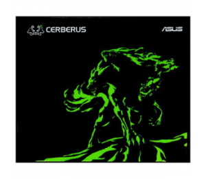 Asus Cerberus Mat Mini Gaming Mouse Pad Green With Consistent Surface Texture And Non-slip Rubber