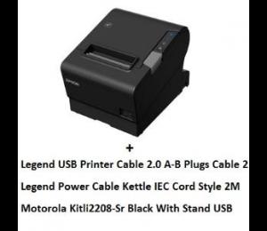 Epson Tm-T88Vi Usb Bundle With Cables + Li2208 Usb Kit Tm-T88Vi Usb + Li2208 Usb