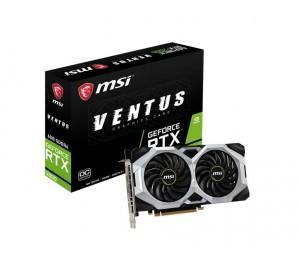 Msi Geforce Rtx 2060 Directx 12 Rtx 2060 Ventus 6G Oc 6Gb 192-Bit Gddr6 Pci Express 3.0 X16 Hdcp