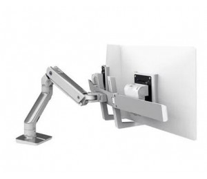 ERGOTRON HX DESK DUAL MONITOR ARM POLISHED 45-476-026