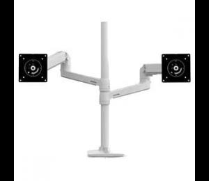 Ergotron Lx Dual Stacking Arm Tall Pole Bwt. 45-509-216
