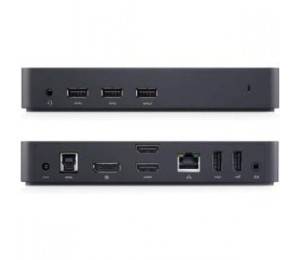 Dell D3100 Usb Uhd 4k Docking Station, Gbe (1), Usb (5), Hdmi (2), Dp (1), 1yr Wty 452-11714