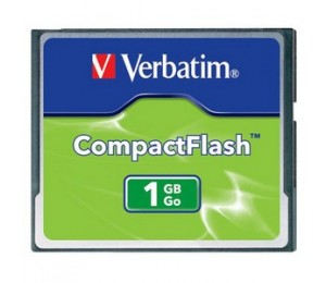Verbatim Compact Flash Card 1GB 47010