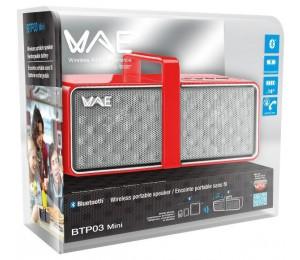 Thrustmaster Hercules Red Wae Btp03 Mini Portable Bluetooth Speaker Tm-hcl-4780556