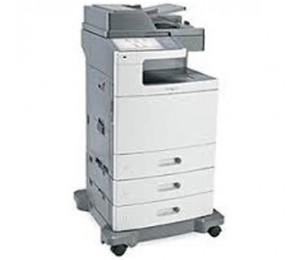 Lexmark X792DTE (47B1022) Print, copy, scan and fax, 10.2-inch LCD touch panel, Duplex, 47 ppm