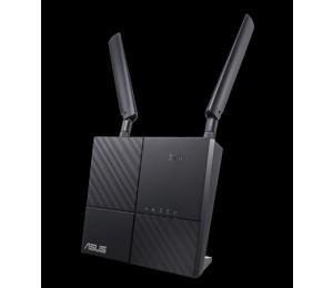 Asus Ac750 Wireless Dual Band 4g Lte Router Gbe(2) (1) Usb 2.0(1) Sim Slot(1) Ant(2) 3yr 4g-ac53u