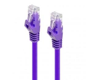 Alogic 0.5m Purple Cat5e Network Cable C5-0.5-purple