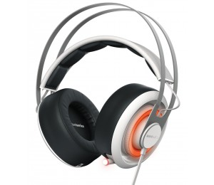 Steelseries White Siberia 650 Rgb Usb & 3.5mm Headset Ss-51192