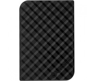 Verbatim 2.5in Usb 3.0 Store'n'go Hdd Grid Design 2tb - Black 53195