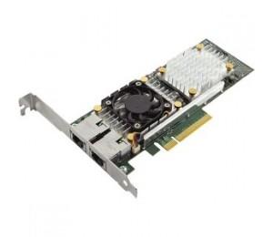Dell Broadcom 57810 Dual Port 10gb Base-t Network Adapter,full Height,cuskit 540-bbgu