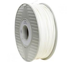VERBATIM PLA 3.00mm White 1kg reel 55260