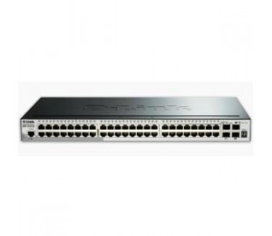 D-LINK 52-PORT GIGABIT SMARTPRO SWITCH WITH 48 UTP AND 4 SFP+ 10G PORTS DGS-1510-52X