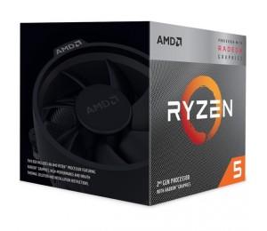 Amd Ryzen 5 3400G 4-Core/ 8 Threads Max Freq 4.2Ghz 6Mb Cache Radeon Rx Vega 11 Socket Am4 65W With Wraith Spire Cooler Yd3400C5Fhbox