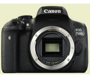 Canon 750db Entry Level Eos 750d Body 750db