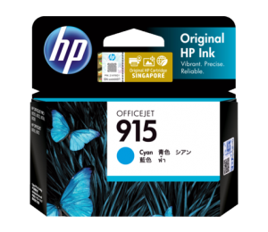 Hp 915 Cyan Original Ink Cartridge 3Ym15Aa