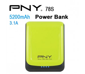 Pny Power Bank 78s Green 7800mah 2 Usb Output 78s-green
