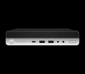 Hp 800 Elitedesk G4 Dm I5-8500T 16Gb 256Gb Ssd Wlan W10P64 3-3-3 2Yh11Av