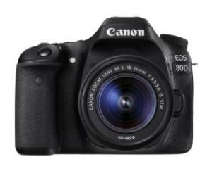 Canon 80dkis Eos 80d Single Kit With Efs18-55st Lens 80dkis