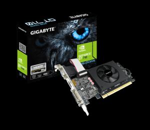 Nvidia Gt 710 D5 954Mhz 2Gb Gddr5 1Xhdmi 1Xdvi 1Xd-Sub Low Profile 1Xfan 300W 3 Years Warranty Gv-N710D5-2Gil