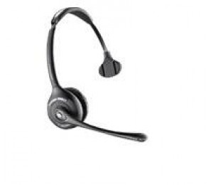 PLANTRONICS SAVI SPARE MONAURAL HEADSET + BASE CHARGE CRADLE - W710, W410 (AND -M) 83323-12