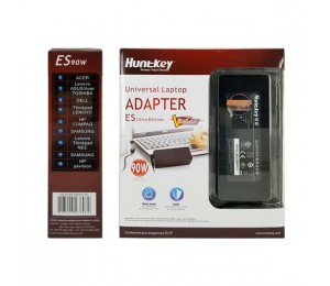 HuntKey Universal Laptop Adapter ES Ultra Edition 90W NBAHUN90WESUL