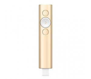 LOGITECH SPOTLIGHT PRESENTATION REMOTE - GOLD 910-004864